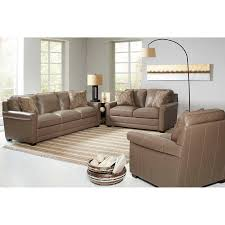 Bob Mills Living Room Sets by Stone Haven 3 Piece Top Grain Leather Living Room Set