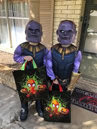 THANOS Costume Concept Art In Infinity War Marvel