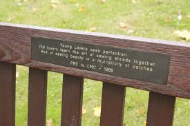 Bench Stockists by Secret Messages From Park Benches