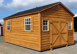 12x24 Portable Shed Plans by Cedar U0026 Split Log Storage Sheds Leonard Buildings U0026 Truck