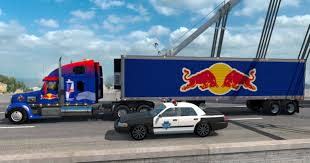 Red Bull Combo Pack – Coronado Skin And Trailer For ATS - ATS Mod ...
