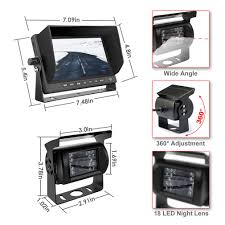 Backup Camera Truck GERI Waterproof Rear View Camera System 12V 24V ... 48ch Bustruck Dvr Camera System Support Gps Tracking Wifi 3g 4g Chevrolet And Gmc Multicamera For Factory Lcd Screen Tow Truck Backup Safety Solutions Rvs Systems Visibility Reversing Kits Big Rig Chrome Shop Semi Lighting Anted Electronics Coltd Commercial Truck Camera Systems With 7 Quad Monitor Video Recorder For Rv Bustruck Ir 24v Bus Rear View Security Heavy Duty 4ch Digital Wireless System Td Mdvr 720p 34 Includes 3 Cams Can Add Work Utility Federal