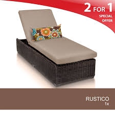 Albertsons Grocery Patio Furniture by Tk Classics Chaise Lounge Chairs Tan Kmart