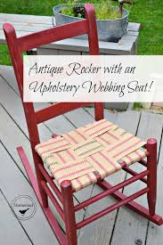 Antique Rocker With An Upholstery Webbing Seat | Diy Pallet ... Restoration Of Antique Rocking Chair Youtube Reclaimed Chair How To Tell If Metal Fniture And Decor Is Worth Wood Country Tl Red Cedar Refurbished 1800s Antique Rocking Renee Rose Design Diy Upcycle Tutorial My Creative Days Diy Throne Bangkokfoodietourcom Pretty Painted A Beautiful Baby Gift Charmant Rustic Patio Outdoor Garden Charming Hack Using Denatured Alcohol Strip Stain Black Goes From Dated Stunning