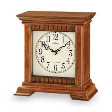 Bulova Table Clocks Wood by Table Clocks Magnolia Home Village Wall Clock Brick 24 Hour Desk