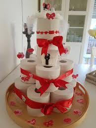 klopapier torte klopapiertorte hochzeitsgeschenk basteln