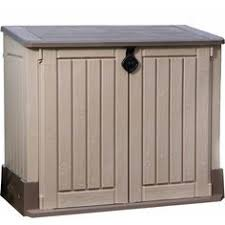 Suncast Garden Shed Taupe by Suncast Gs1000b Garden Shed Mocha Lid 33 X Pack Of 1 Outdoor