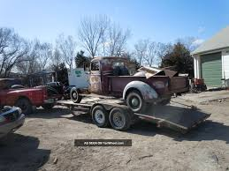 1937 Gmc T - 14 Truck, Rat Rod Or Street Rod Project. Lots Of Potential