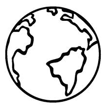 Globe Coloring Pages Large Size Of Page The Earth