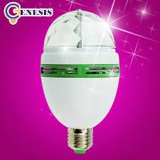 disco light festival led stage light e27 rgb bulb color 3w