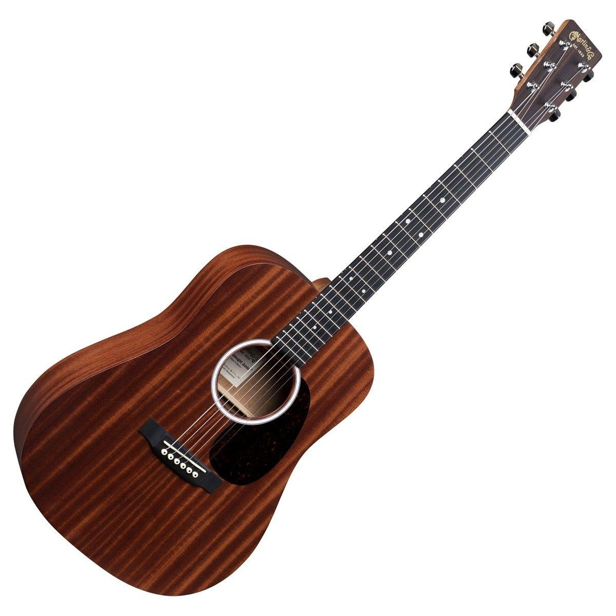 Martin DJR-10E Sapele Dreadnought Junior Natural