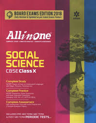 All In One Social Science CBSE Class 10 X