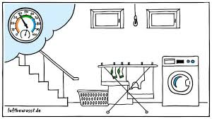 optimale luftfeuchtigkeit im keller infos tipps