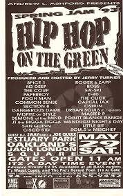 Hip Hop History Tuesdays Bay Area Shows 1984