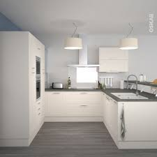 cuisine meubles blancs couleur mur cuisine meuble blanc en photo
