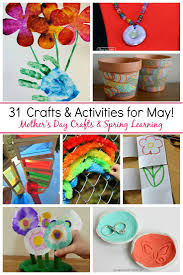31 May Crafts Activities For Kids