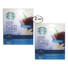 20 Starbucks Vanilla Sweetened Iced Coffee Keurig K Cups Please Read Pods