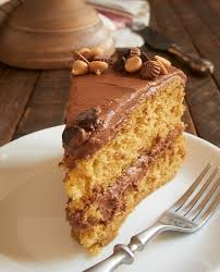 Peanut Butter Cake with Chocolate Frosting Bake or Break