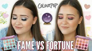 COLOURPOP FAME VS FORTUNE SHADOW PALETTES | Review, Swatches & Tutorials! Huge Colourpop Haul Lipsticks Eyeshadows Foundation Palettes More Colourpop Blushes Tips And Tricks Demo How To Apply A Discount Or Access Code Your Order Colourpop X Eva Gutowski The Entire Collection Tutorial Swatches Review Tanya Feifel Ultra Satin Lips Lip Swatches Review Makeup Geek Coupon Youtube Dose Of Colors Full Face Using Only New No Filter Sted Makeup Favorites Must Haves Promo Coupon