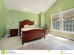 100 Bedroom Green Walls Master With Walls Stock Photo Image Of