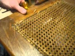 Chair Caning Instructions Youtube by Chair Caning How To 3 Removing Old Cane Youtube