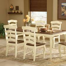 French Dining Room Sets by Country French Butterfly Leaf Extension Dining Table