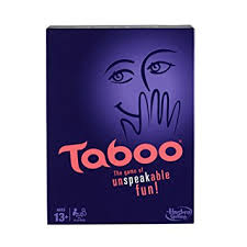 Amazon Taboo Board Game Toys Games