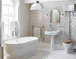 subway tile small bathroom home interior designs
