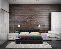Master Bedroom Interior Design Wood Paneling Is A Simple But Effective Approach To Feature Wall