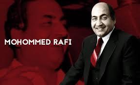 Anniversary of Mohammed Rafi on 24th December