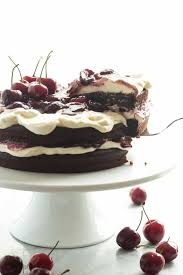 Naturally Gluten Free Black Forest Cake Recipe