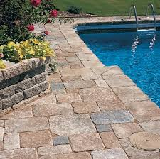 pavers for patio rumos tile pool services construction