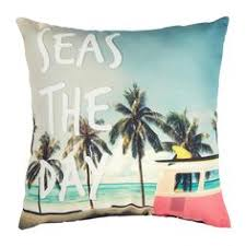 Seas Every Day Leaning On Our Scenic Throw Pillow With An All