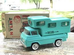 100 Custom Truck Camper Vintage Nylint No 5300 Pressed Steel Toy