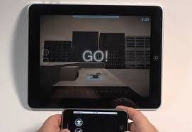 Chopper 2 for iPad uses iPhone as controller HDTV for display