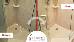 thorough grout sealing restores porcelain tile bathroom in quincy