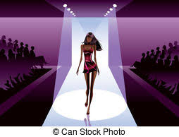 Model Clipart Runway 4