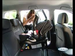 comment attacher un siège auto bébé siège auto groupe 0 logico s hp de graco