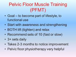 Pelvic Floor Muscle Training by Academic Half Day Family Medicine Residency Program Ppt Video