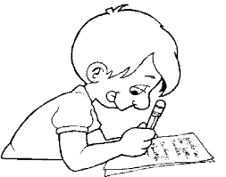 Textbooks Clipart Image Coloring Page Of School