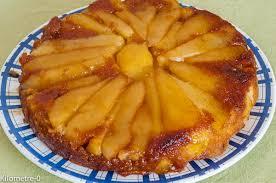 recette cuisine facile rapide gâteau aux poires et au gingembre kilometre 0 fr