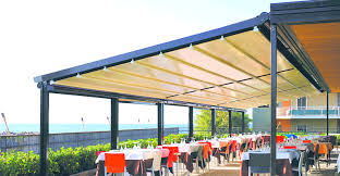 Automated Awning Retractable Awning Outdoor Shades Automated ... San Francisco Awning Shade Sails 24 Restaurant Awnings Superior Shades Screens Auckland Commercial Custom Retractable And Covers Works Inc Clearwater Florida Proview Sail Awnings Shades Any One Used Them Landscape Juice Awning Canopy Design Canopies Gallery L F Pease Company Picture With Carports Fabric Outdoor Canopy For Decks Patio