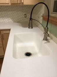 100 Hi Macs Sinks Kitchen Reno In Progress LG Arctic Granite Solid