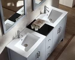 Double Sink Vanity Top 60 by Ariel Hanson 60