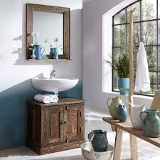 shabby chic waschtisch spiegel jamaica 2 teilig