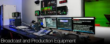 Video Cameras Studio AV Production Equipment