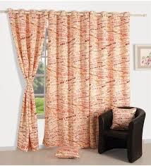 Faux Silk Eyelet Curtains by Firemol Get Zen Garden Harvest Embroidered Faux Silk Curtains