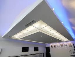 plafond a caisson suspendu cuisine ouverte et délimitation