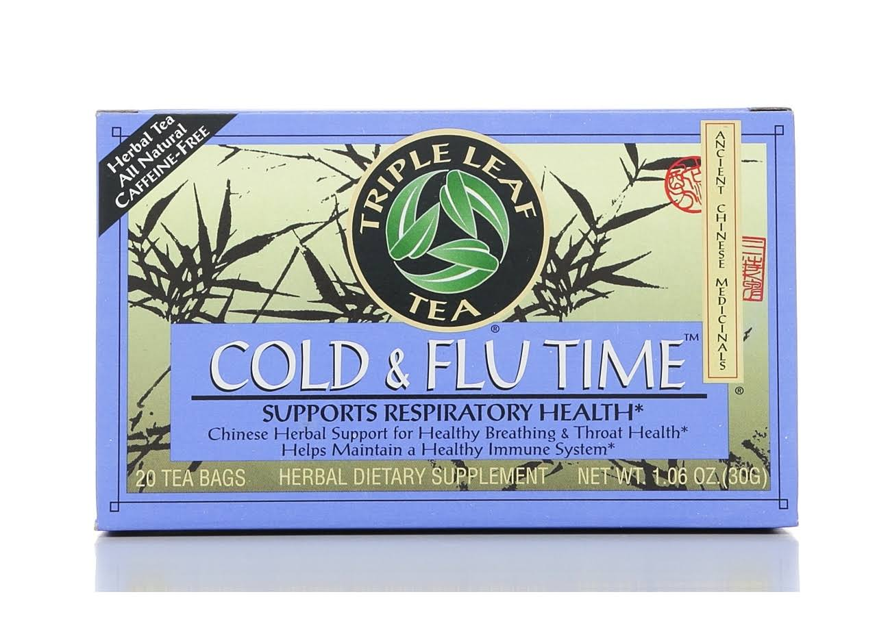 Triple Leaf Tea Cold & Flu Time Tea