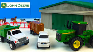 100 John Deere Toy Trucks FARM TOY PLAYSET FROM JOHN DEERE WITH TRACTORS DUMP TRUCK ATV